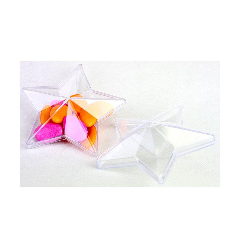 étoile en plastique à remplir
