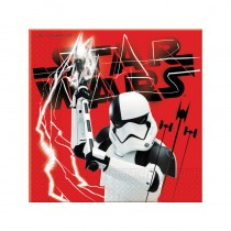 20 SERVIETTES 33X33 CM STAR WARS NEW
