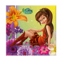 20 SERVIETTES DISNEY FAIRIES FÉE