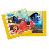 20 SERVIETTES FINDING DORY