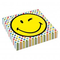 20 SERVIETTES SMILEY EMOTICONES