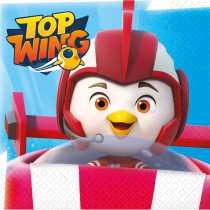 20 SERVIETTES TOP WING