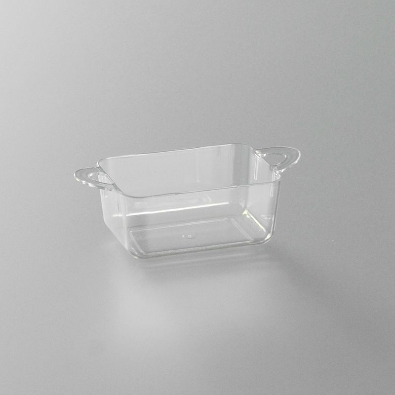 verrine plastique baquet transparente