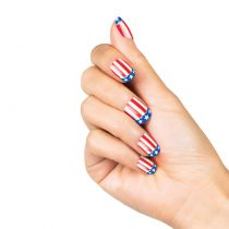 24 FAUX ONGLES USA