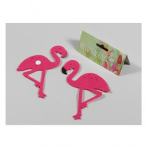 24 FLAMANTS STICKER 3,5CM*4,5CM FEUTRINE