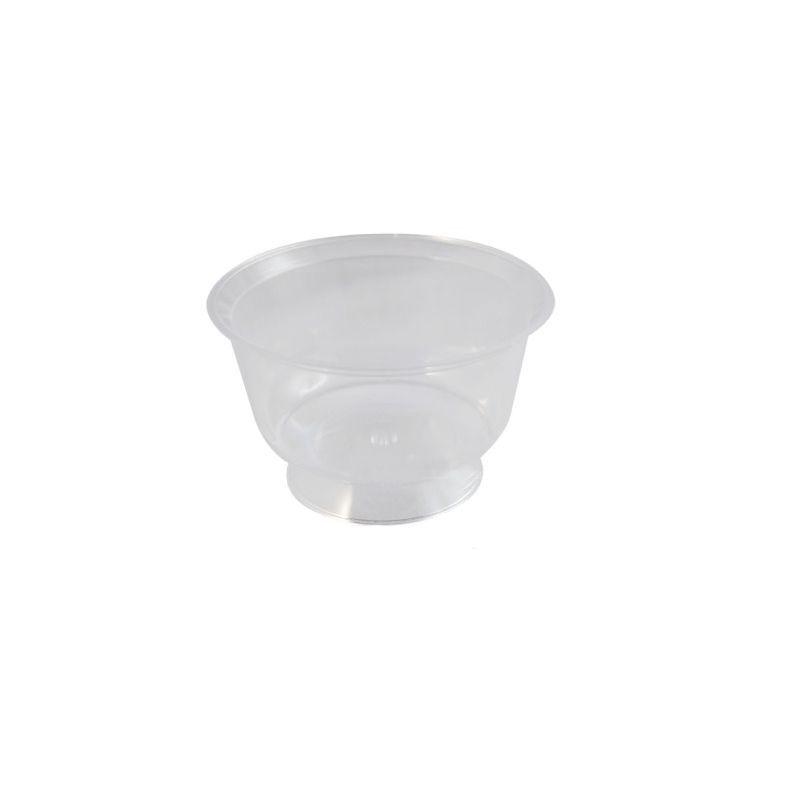 coupe à dessert plastique transparent