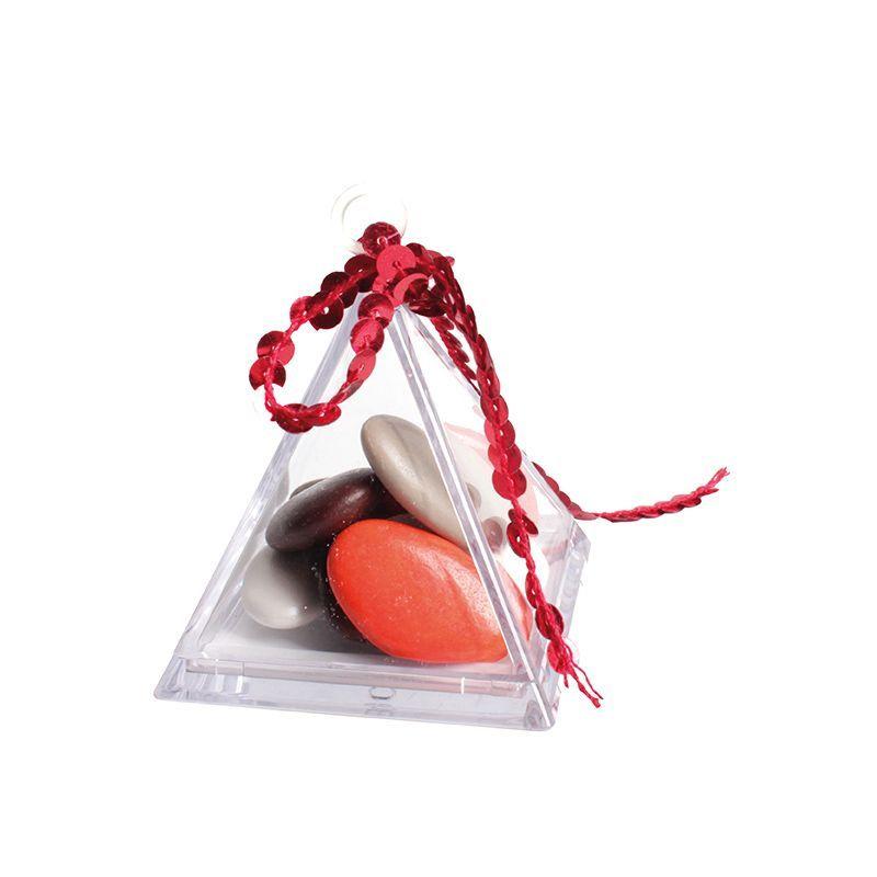 Pyramide en plexi bonbonnière à remplir