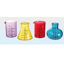 4 VERRES SHOOTER CHIMIE 50ML