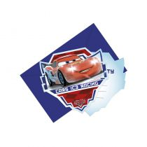 5 CARTES INVITATION CARS ICE