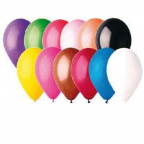 50 BALLONS LATEX MULTI 30 CM