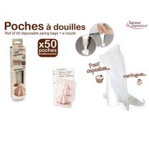 50 POCHES JETABLES + 1 DOUILLE