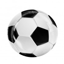 6 ASSIETTES 23CM FOOTBALL
