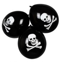 6 BALLONS PIRATE