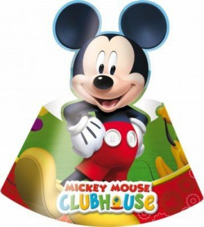 6 CHAPEAUX POINTUS MICKEY