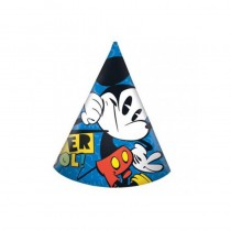 6 CHAPEAUX POINTUS MICKEY SUPER COOL