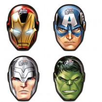 6 MASQUES CARTON MIGHTY AVENGERS