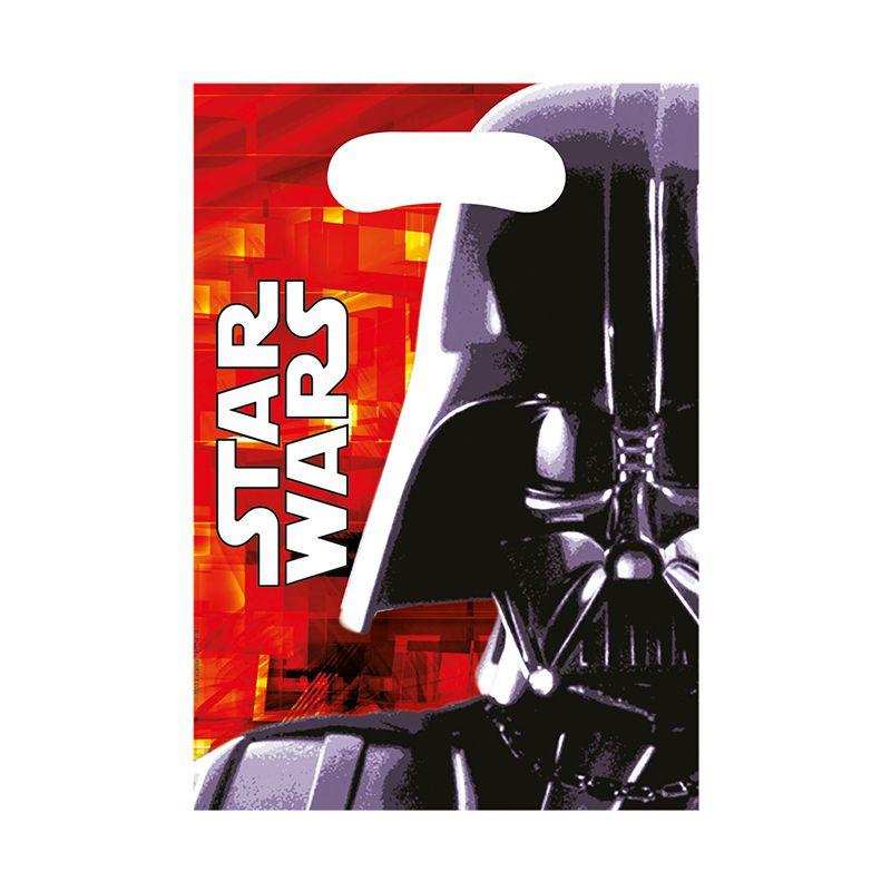 6 SACS CADEAUX STAR WARS & HEROES