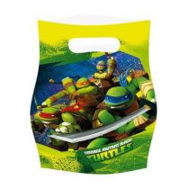 6 SACS TORTUES NINJA