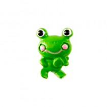 6 STICKERS GRENOUILLE 2 CM