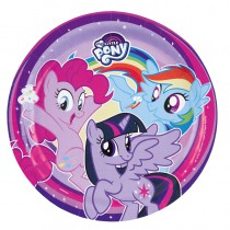8 ASSIETTES 23CM MY LITTLE PONY