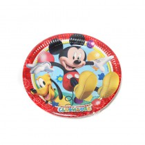 8 ASSIETTES MICKEY CLUBHOUSE