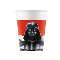 8 GOBELETS CARTON 25CL STAR WARS FINAL BATTLE