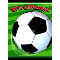 8 INVITATIONS THÈME FOOTBALL