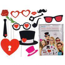 kit photobooth thème coeur