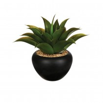 ALOE VERA ARTIFICIELLE POT CÉRAMIQ 37CM