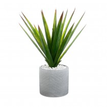 ALOE VERA ARTIFICIELLE POT CÉRAMIQ 48CM