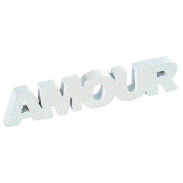 AMOUR SUR TABLE - BLANC