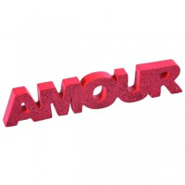 AMOUR SUR TABLE - ROUGE