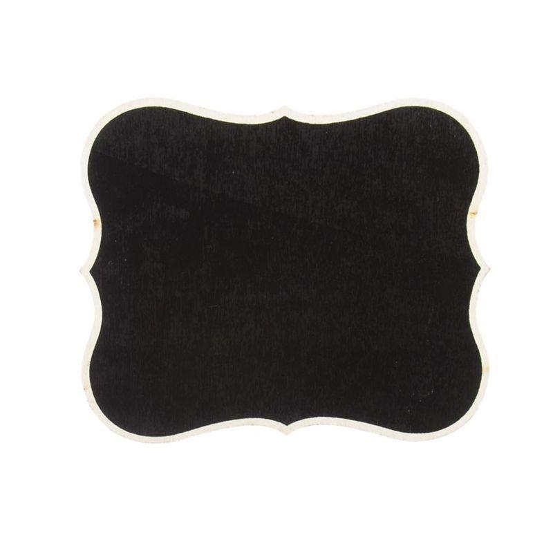 ardoise noire en bois