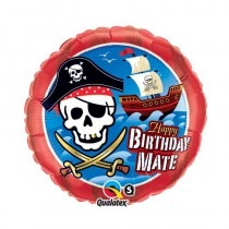 BALLON 45 CM PIRATE