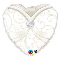 BALLON 45 CM WEDDING
