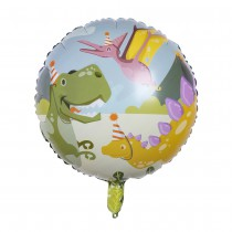 BALLON ALU 45CM DINOSAURE PARTY
