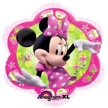 BALLON ALU MINNIE BOW+HÉLIUM