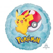 BALLON ALU ROND POKEMON
