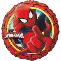 BALLON ALU SPIDERMAN + HÉLIUM
