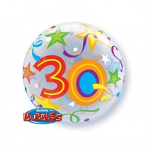 BALLON BUBBLE 22\' 30 ANS