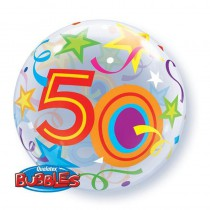 BALLON BUBBLE 22\' 50 ANS