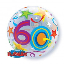 BALLON BUBBLE 22\' 60 ANS