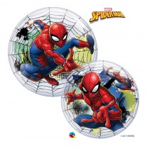 BALLON BULLE 55 CM SPIDERMAN
