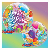 BALLON BULLE 55 CM SURPRISE