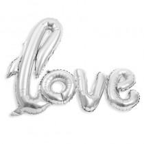 BALLON EN ARGENT LOVE 1,04 X 67,6 CM