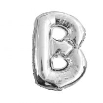 Ballon aluminium lettre B