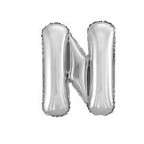 Ballon aluminium lettre N
