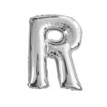 Ballon aluminium lettre R