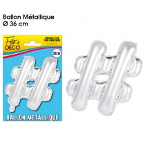 BALLON METALLIQUE SIGLE #