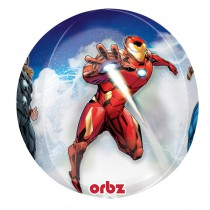 BALLON ORBZ TRANSPARENT AVENGERS